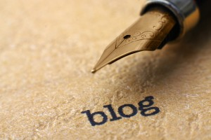 Blog photo with pen